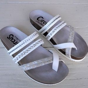 Sam Edelman White Sandals